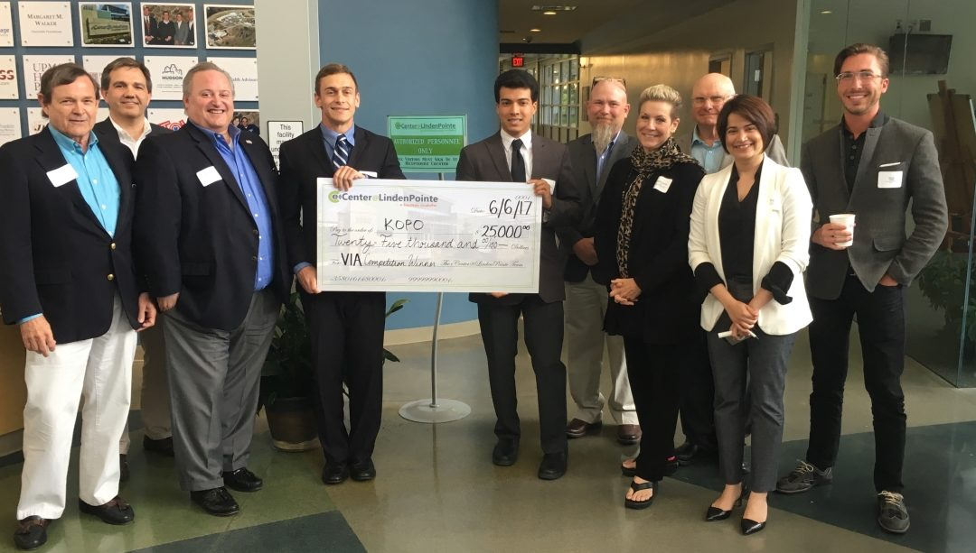 KOPO Wins $25,000 in VIA eCenter Business Competition