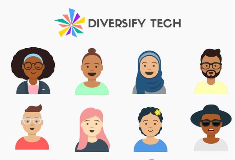 diversify tech screenshot