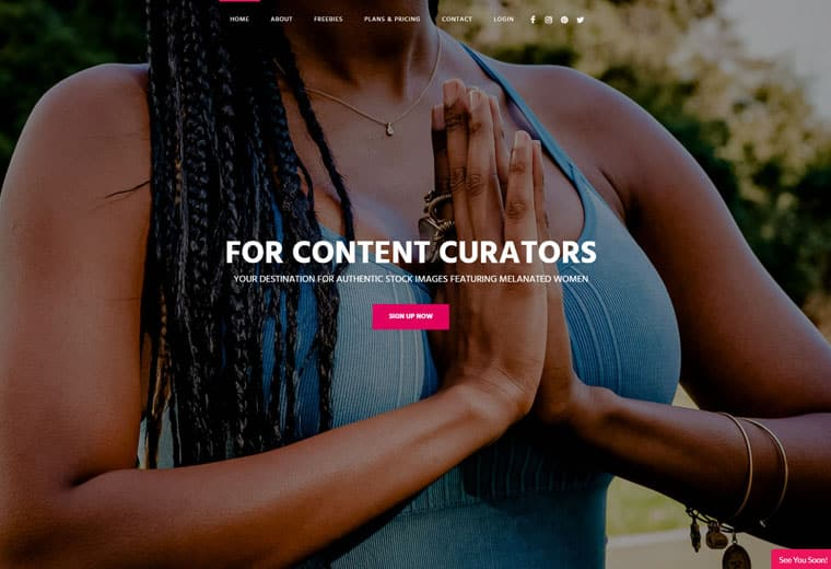 createHER stock screenshot