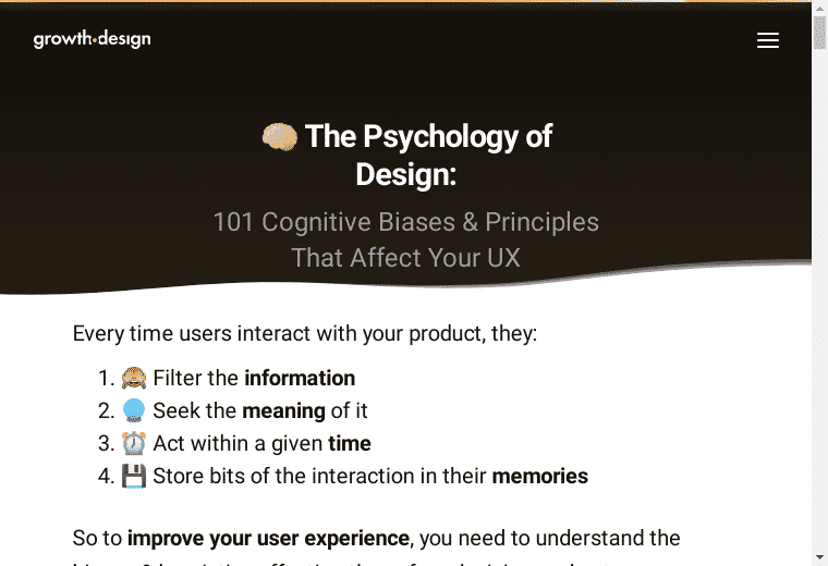 psych ux screenshot