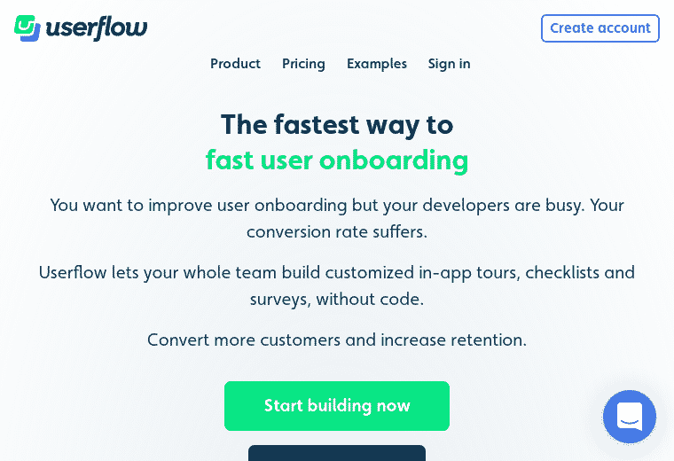 userflow screenshot